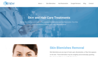 renewskinandhealthclinic.co.uk
