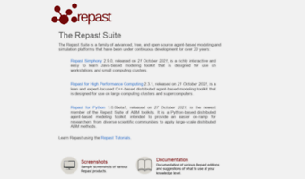 repast.sourceforge.net