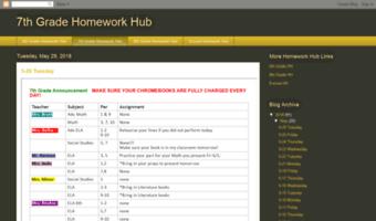 homework hub rtms