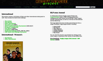 rugbyleagueproject.org