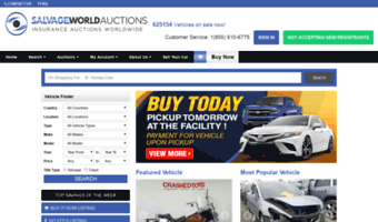 Online Car Auction >> Salvageworldauctions Com Observe Salvage World Auctions