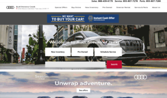 San Jose Car Dealerships >> Sanjoseaudi Com Observe San Jose Audi News Audi Stevens