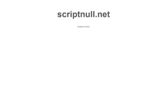 Scriptnull net ▷ Observe Scriptnull News   Scriptnull net [14]