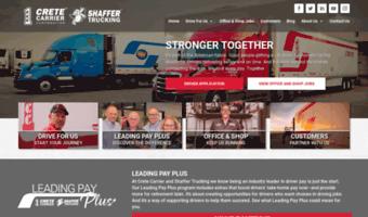 Shafferjobs Com Observe Shafferjobs News Crete Carrier
