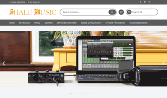 shalumusic.co.in