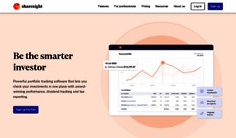 sharesight com observe sharesight news stock portfolio tracker
