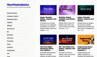Shortstatusquotescom Observe Short Status Quotes News