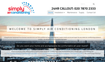 simplyairconditioninglondon.co.uk