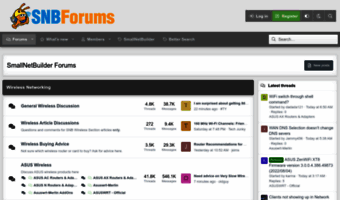 Snbforums com ▷ Observe Snb Forums News | SmallNetBuilder