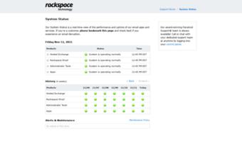Status apps rackspace com ▷ Observe Status Apps Rackspace