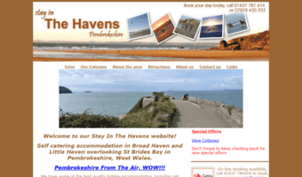 stayinbroadhaven.co.uk