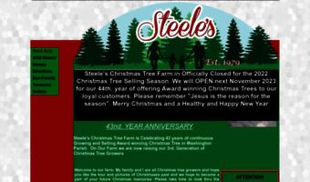 Steeleschristmastreefarm.com ▷ Observe Steele S Christmas Tree ...