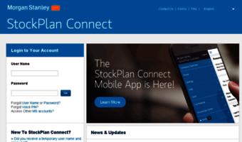 Stockplanconnect-uat morganstanley com ▷ Observe Stock Plan Connect