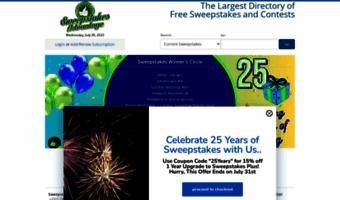 Sweepsadvantage com ▷ Observe Sweeps Advantage News | Sweepstakes