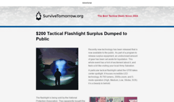 tacticaldeals.survivetomorrow.org