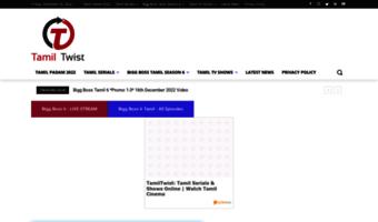 Tamiltwistgo com ▷ Observe Tamil Twist Go News | TamilTwist: Check
