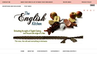 Theenglishkitchen Blogspot Com Observe The English Kitchen Blogspot News The English Kitchen