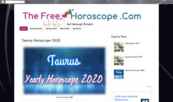 Thefreehoroscope com ▷ Observe Thefree Horoscope News | Horoscope