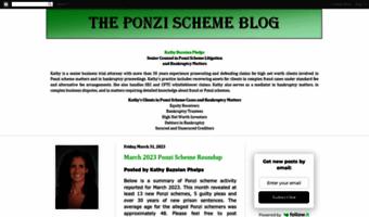Theponzibook blogspot com ▷ Observe The Ponzi Book Blog