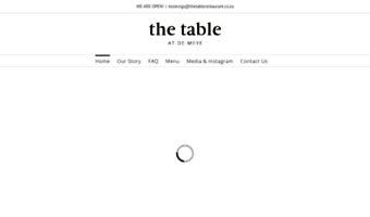 thetablerestaurant.co.za