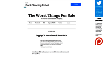 theworstthingsforsale.com