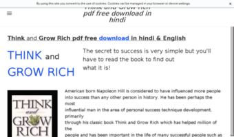 Think And Grow Rich Pdf In English