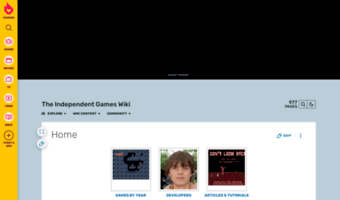 Tig Wikia Com Observe Tig Wikia News The Independent Games Wiki