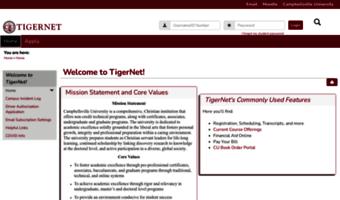 campbellsville university tigernet Tigernet.campbellsville.edu ▷ Observe Tiger Net Campbellsville News ...