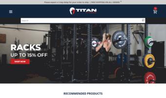 0ce9520345da Titan.fitness ▷ Observe Titan News   Titan Fitness - Gym Exercise ...