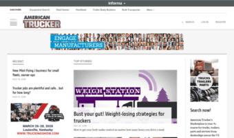 Trucker com ▷ Observe Trucker News | American Trucker
