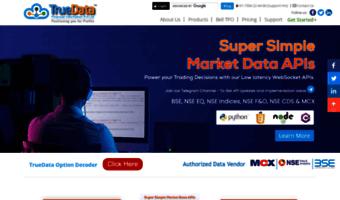 Truedata in ▷ Observe True Data News | TrueData™ | Real