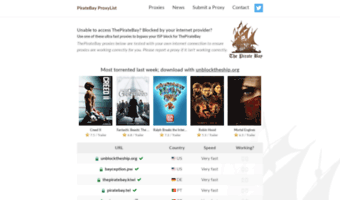 pirate bay movies games software
