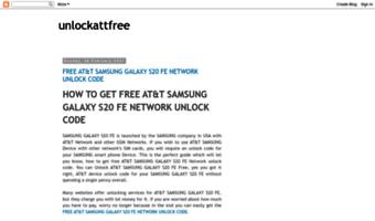 Unlockattfree blogspot com ▷ Observe Unlockattfree Blogspot