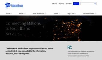Usac org ▷ Observe USAC News   Universal Service