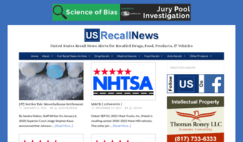 Usrecallnews.com ▷ Observe US Recall News News | United ... on