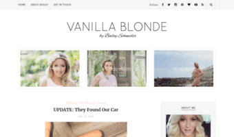 vanillablonde.co.za