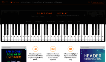 virtual piano  net