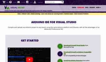 Visualmicro com ▷ Observe Visual Micro News   Arduino IDE