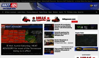 Waff com ▷ Observe WAFF News | WAFF-TV: News and Weather