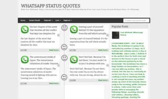 Whatsappstatusquotesblogspotcom Observe Whatsapp Status