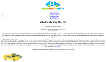 What My Car Worth >> Whatsmycarworth Co Uk Observe What S My Car Worth News