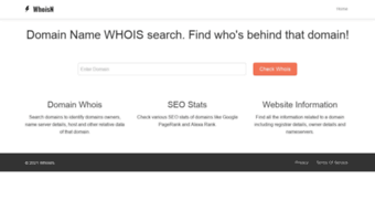 Website Owner Lookup >> Whoisn Com Observe Whois N News Domain Name Whois