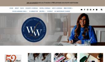 Womenlivingwell Org Observe Women Living Well News
