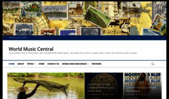 Worldmusiccentral.org ▷ Observe World Music Central News | World Music Central