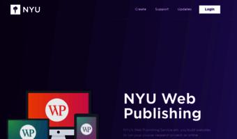 Wp nyu edu ▷ Observe Wp Nyu News   Web Publishing – Build