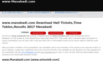 Www-manabadi com ▷ Observe Www Manabadi News