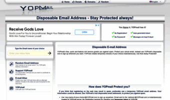 Yopmail com ▷ Observe YOPmail News | YOPmail - Disposable Email Address